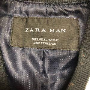 Zara man bomber jacket sz L